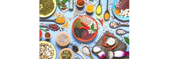 المواد الغذائية من جميع أنحاء العالم
