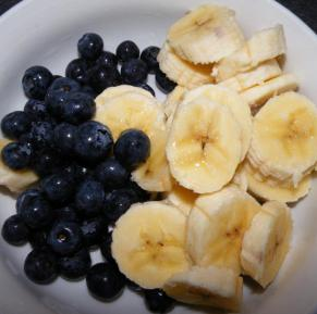 Blueberries Breakfast Bowl