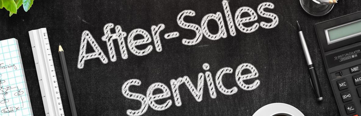 خدمة ما بعد البيع